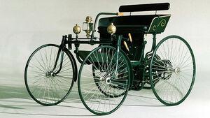 Benz Stahlradwagen