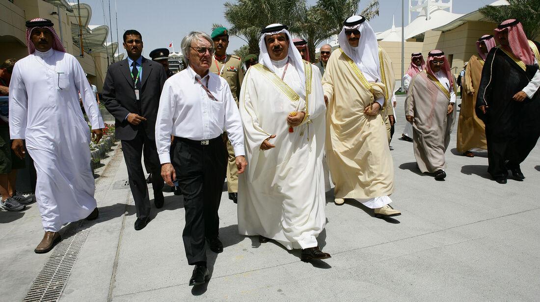 Bernie Ecclestone - Bahrain