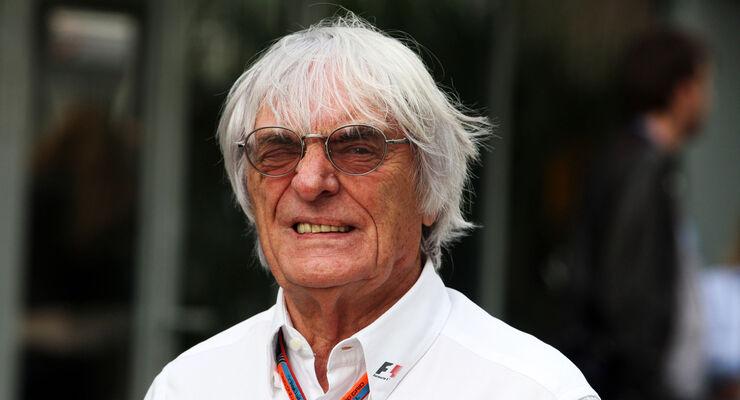 Bernie Ecclestone - Formel 1 - 2015
