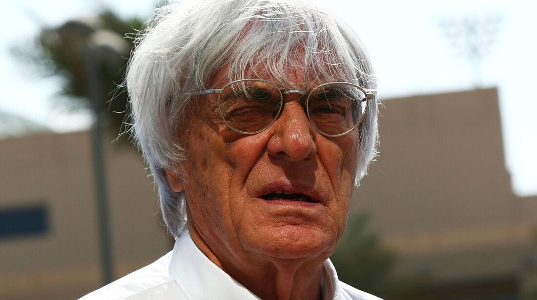 Bernie Ecclestone - Formel 1 - GP Abu Dhabi - 20. November 2014