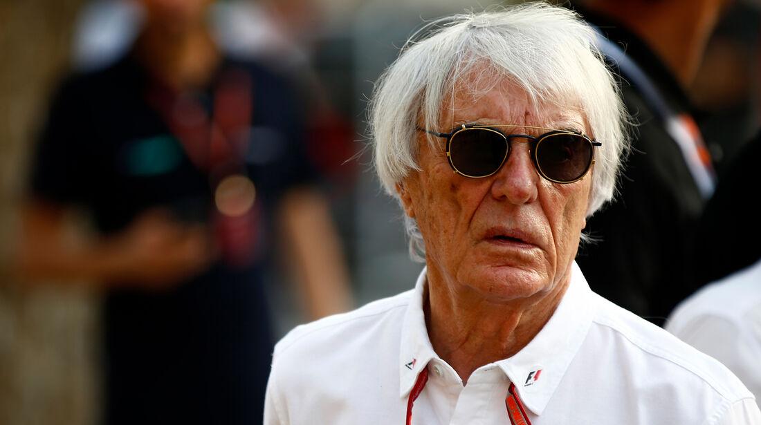 Bernie Ecclestone - Formel 1 - GP Bahrain - 7. April 2018