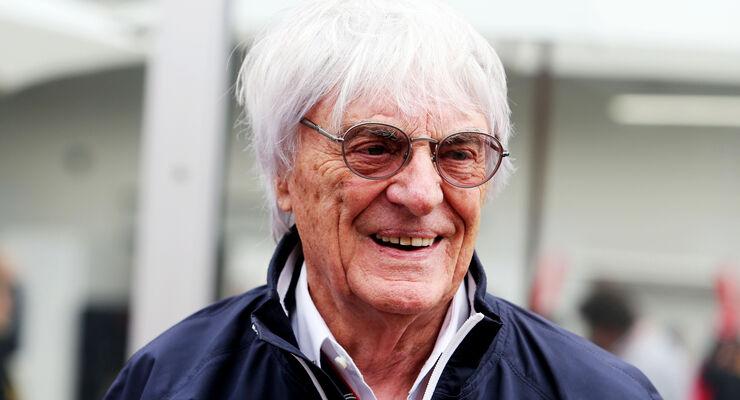 Bernie Ecclestone - Formel 1 - GP Mexiko - 31. Oktober 2015