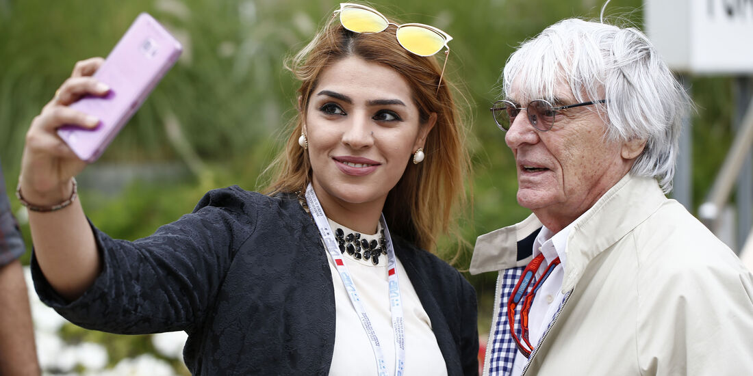 Bernie Ecclestone - GP Bahrain - Formel 1 - 1. April 2016