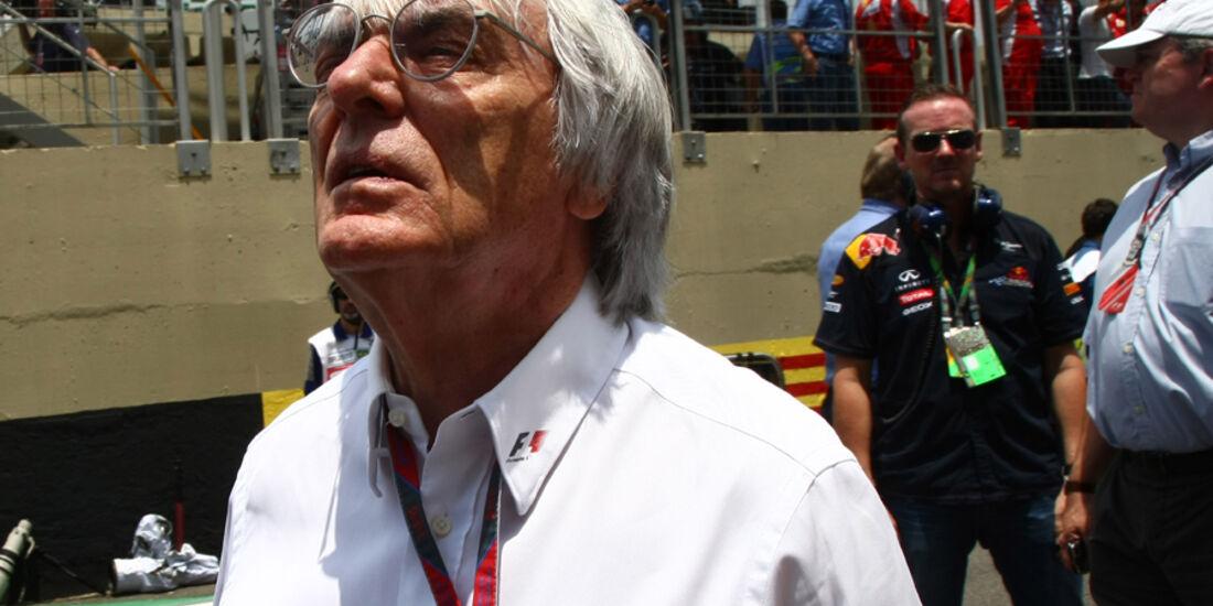 Bernie Ecclestone GP Brasilien 2011