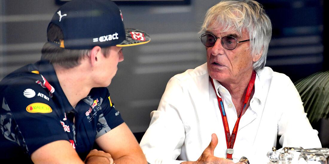 Bernie Ecclestone - Max Verstappen - Formel 1 2016