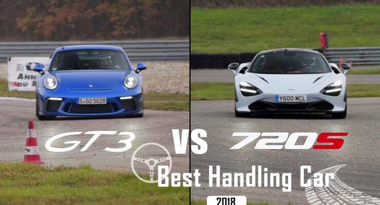 Best Handling Car 2018, Porsche vs. McLaren