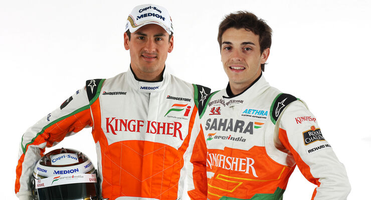 Bianchi Sutil Force India