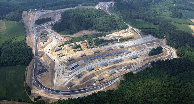Bilster Berg Drive Resort, Luftaufnahme