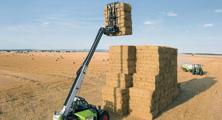 Bioethanol-Fertigung aus Stroh.