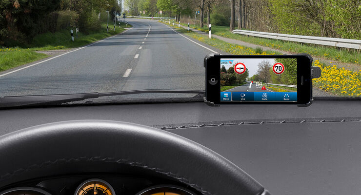 Bosch myDriveAssist App Verkehrszeichenerkennung