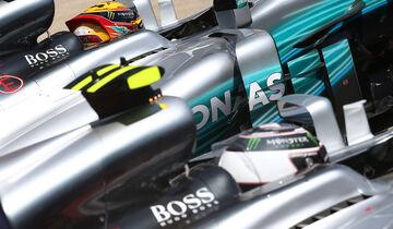 Bottas & Hamilton - Formel 1 - GP Kanada - Montreal - 10. Juni 2017