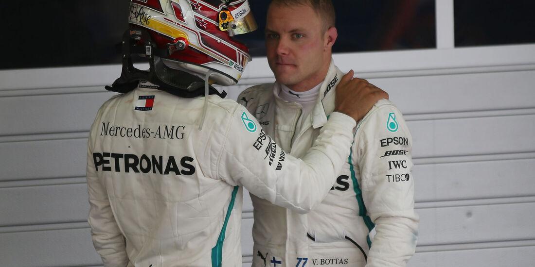 Bottas - Hamilton - Mercedes - GP Russland 2018 - Sotschi - Rennen