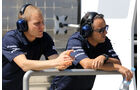 Bottas & Massa - Williams - Formel 1 - Test - Bahrain - 22. Februar 2014