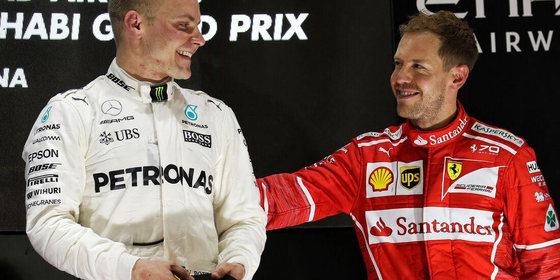 Bottas & Vettel - GP Abu Dhabi 2017