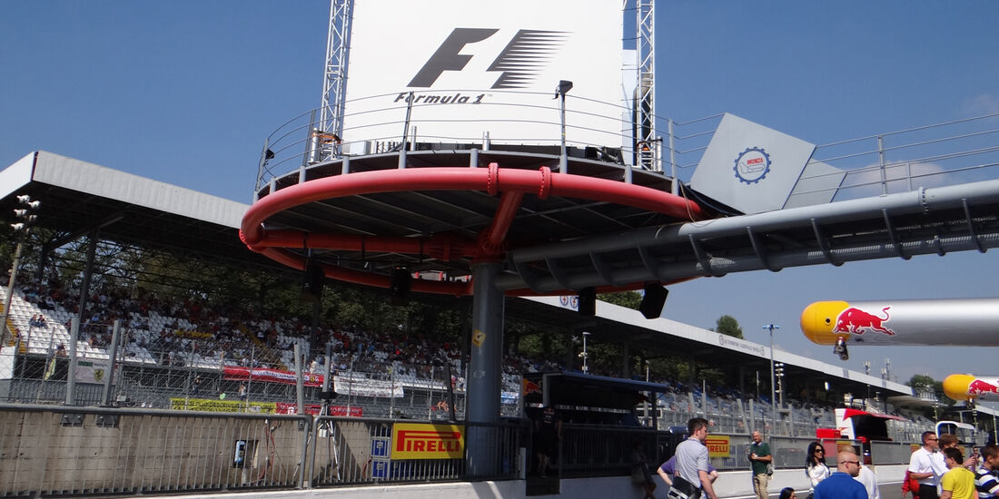 Boxengasse - Formel 1 - GP Italien - Monza - 6. September 2013