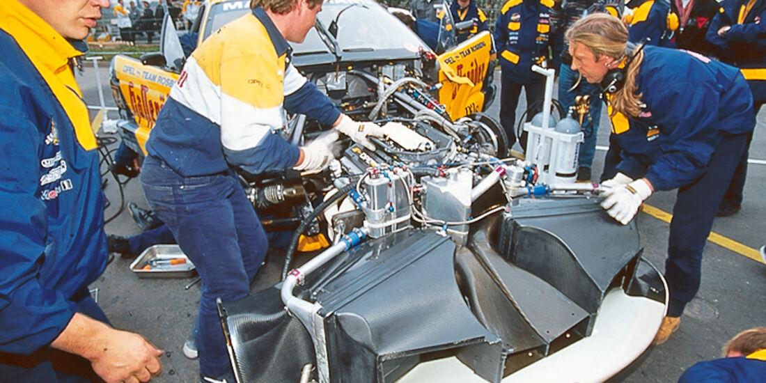 Boxenstopp, Rosberg-Crew