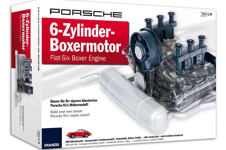 Mythos Porsche: 6-Zylinder-Boxer von 1966 als Bausatz - auto motor ...