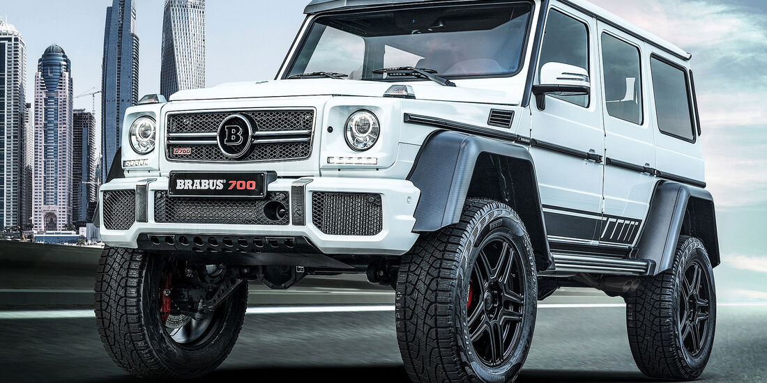 """Brabus 700 4x4² """"one of ten"""" Final Edition"""
