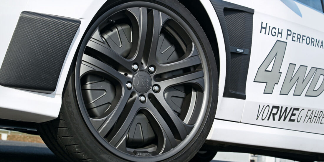 Brabus E4WD Full Electric, Rad, Felge