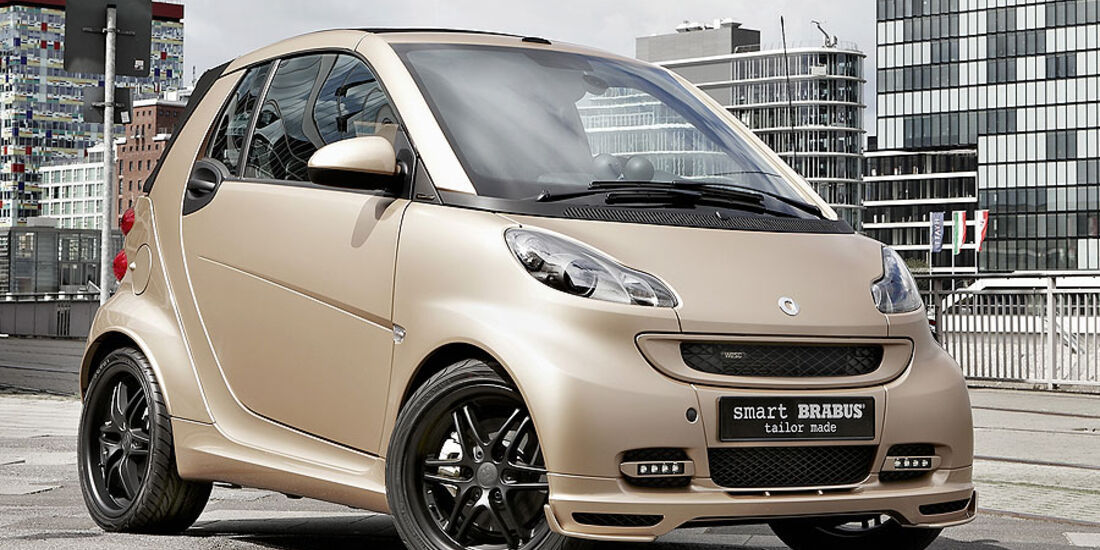 Brabus Smart tailor made by WeSC