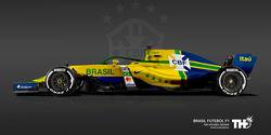 Brasilien - F1-Autos - Fußball-WM 2018