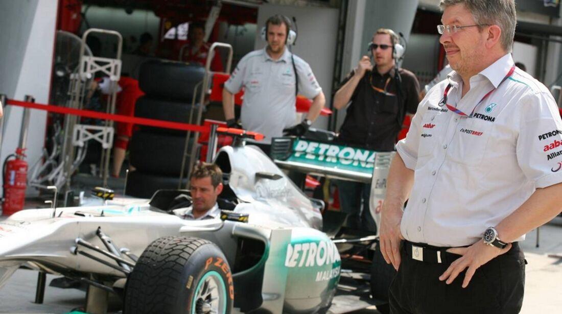 Brawn GP Malaysia 2011 Formel 1