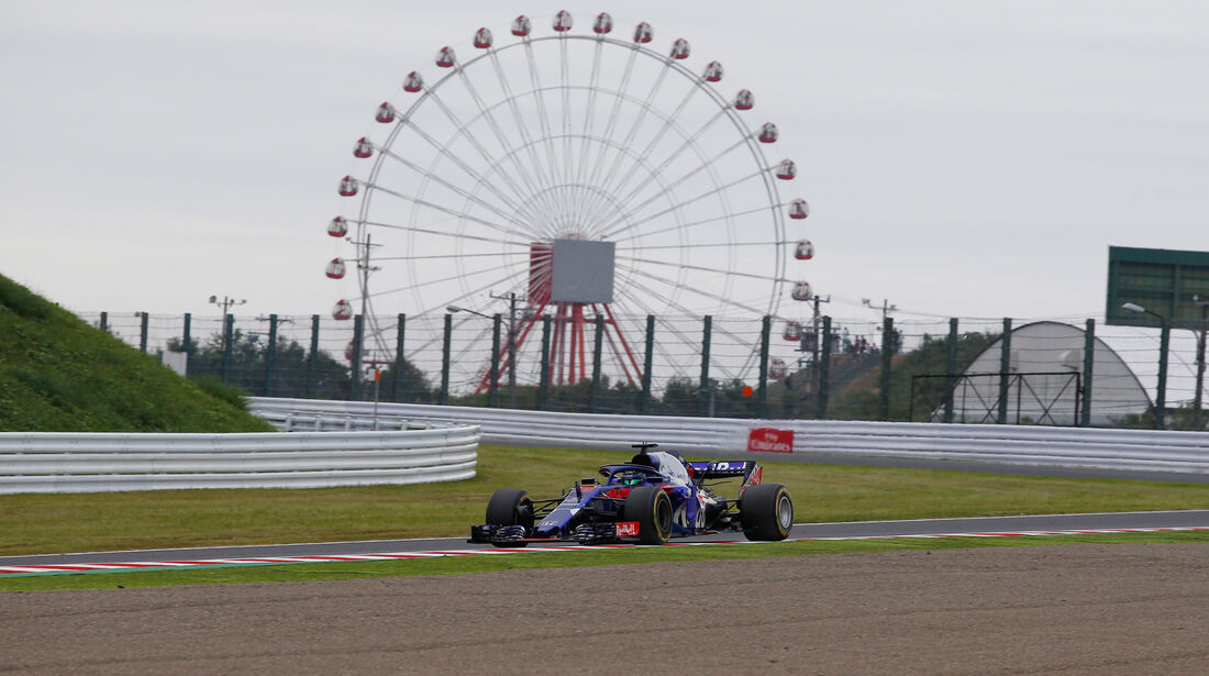 Bredon Hartley - Toro Rosso - GP Japan - Suzuka - Formel 1 - Freitag - 5.10.2018
