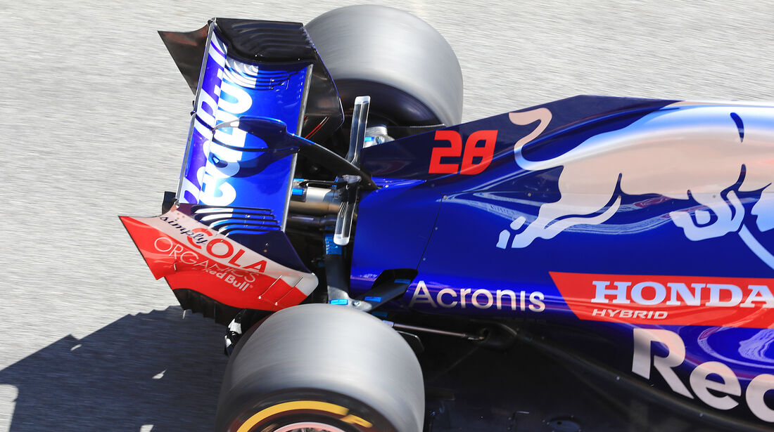 Brendon Hartley - Toro Rosso - F1-Test - Barcelona - Tag 5 - 6. März 2018