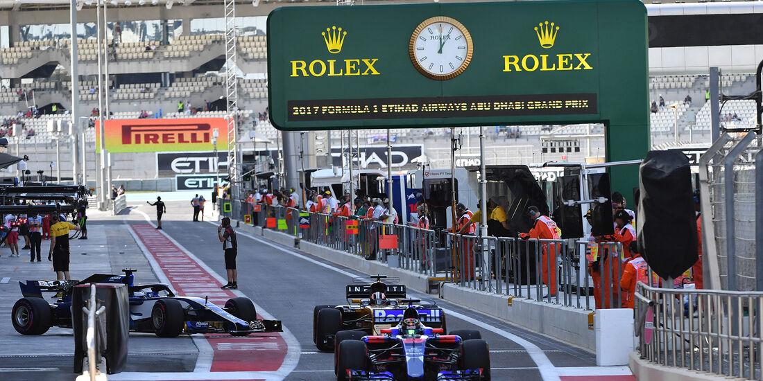 Brendon Hartley - Toro Rosso - Formel 1 - GP Abu Dhabi - 24. November 2017