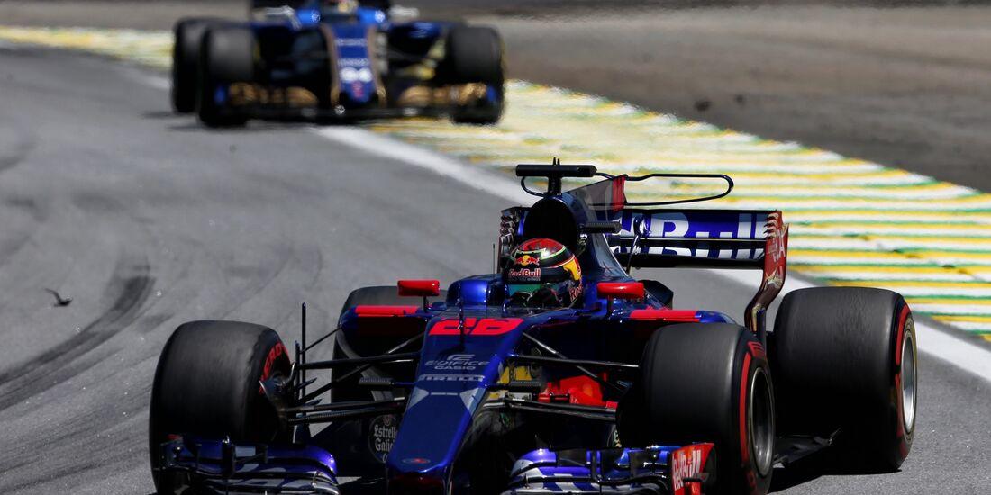 Brendon Hartley - Toro Rosso - Formel 1 - GP Brasilien - 12. November 2017