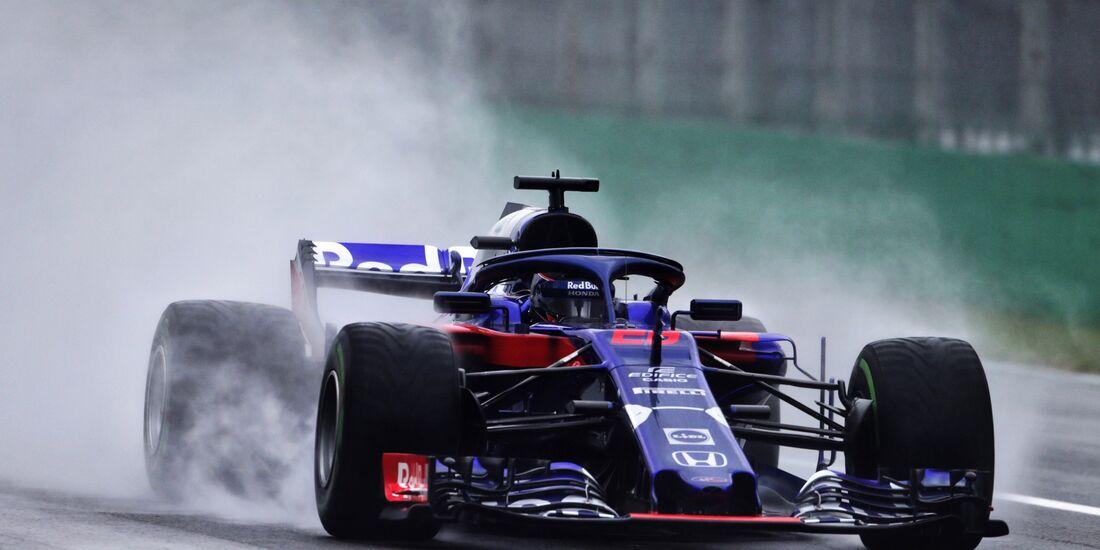 Brendon Hartley - Toro Rosso - Formel 1 - GP Italien - 31. August 2018