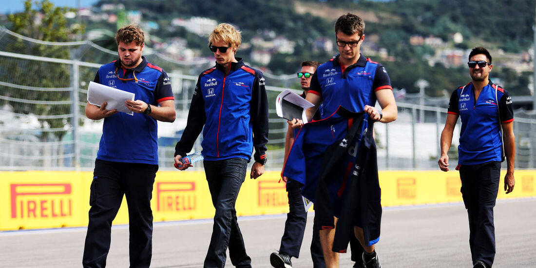 Brendon Hartley - Toro Rosso - GP Russland - Sotschi - Formel 1 - Donnerstag - 27.9.2018