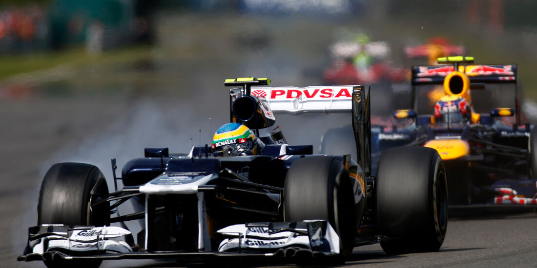 Bruno Senna GP Belgien 2012