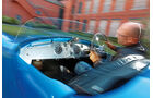 Bugatti 252, Cockpit, Fahrer