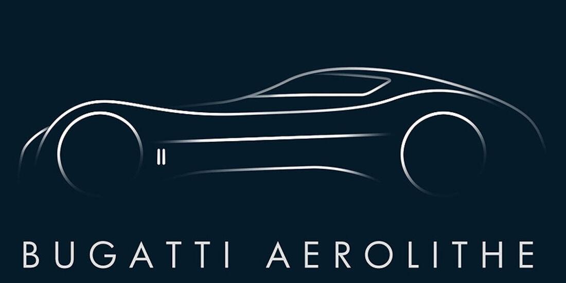 Bugatti Aerolithe Concept Zeichung