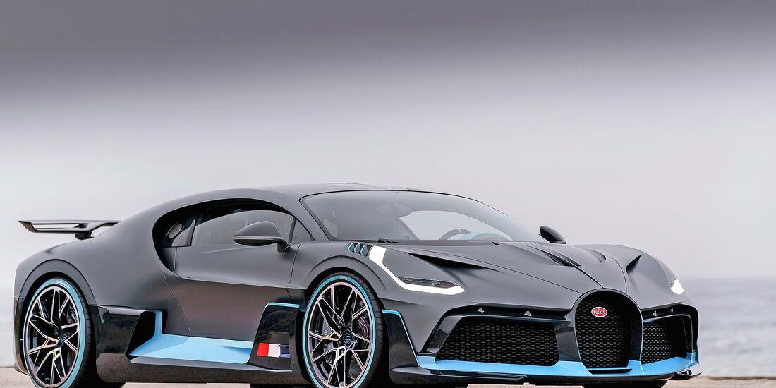 Bugatti Divo - Serie - Supersportler - sport auto Award 2019
