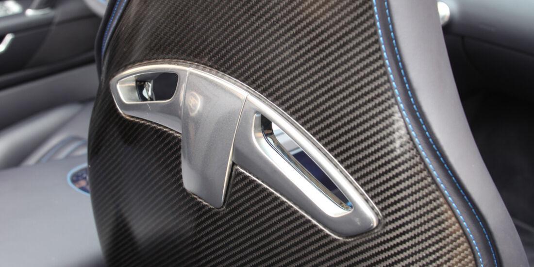 Bugatti Veyron Grand Sport Vitesse, Sitz