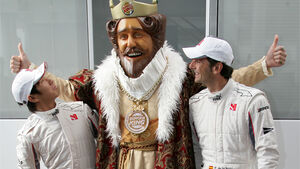 Burger King bei Sauber