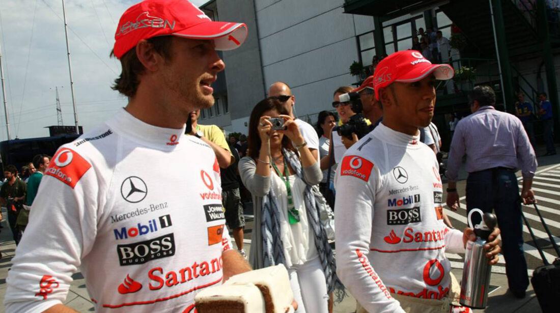 Button und Hamilton