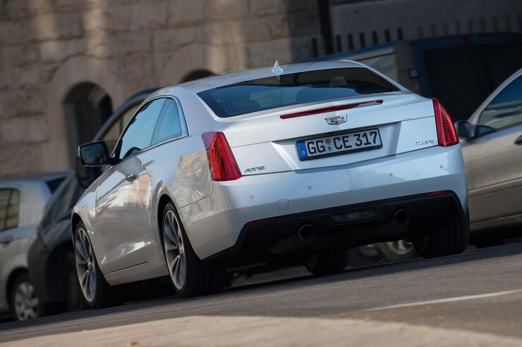 cadillac ats coup 2 0 turbo awd im test auto motor und sport. Black Bedroom Furniture Sets. Home Design Ideas