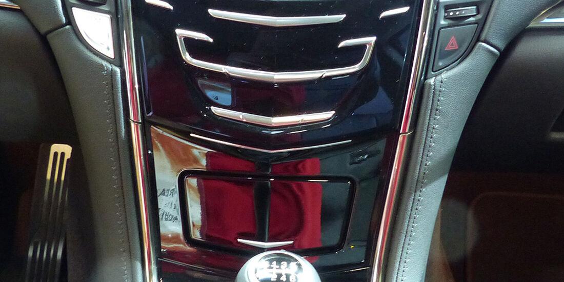 Cadillac ATS Coupé, Detroit Motor Show, NAIAS, Mittelkonsole
