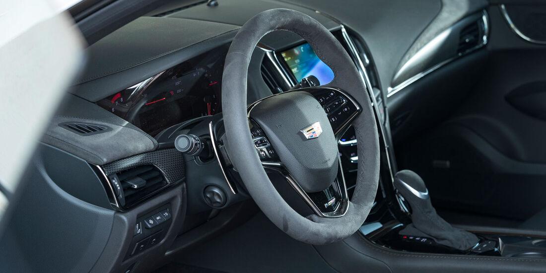 Cadillac ATS-V - Power-Coupé - Test