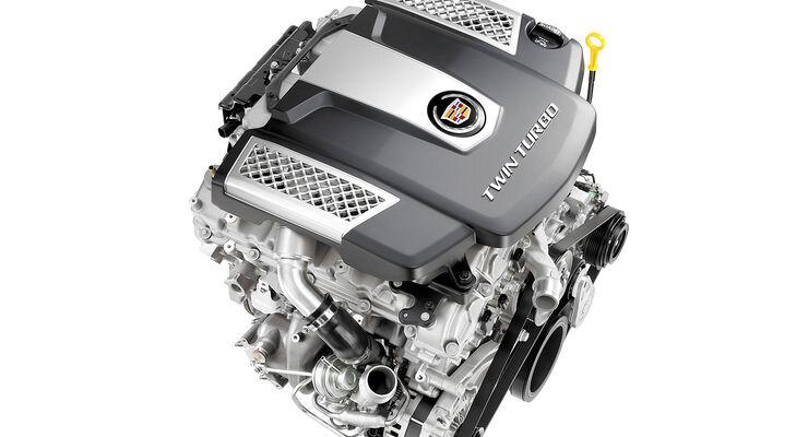 Cadillac V6-Biturbo-Motor