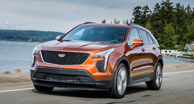 Neuer Cadillac Xt4 2018 Bilder Infos Daten Fahrbericht Auto