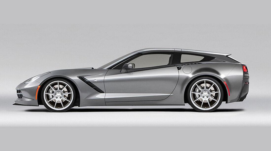 Callaway Aerowagon Concept Corvette C7 Shooting Brake