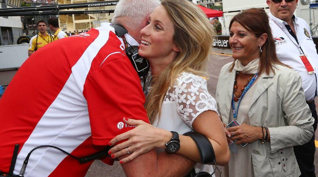 Camille - Freundin Bianchi  - Formel 1 - GP Monaco - 25. Mai 2014
