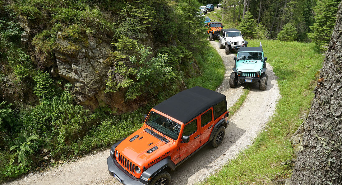 Camp Jeep Italien 2019