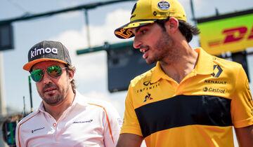 Carlos Sainz & Fernando Alonso - F1 - 2018