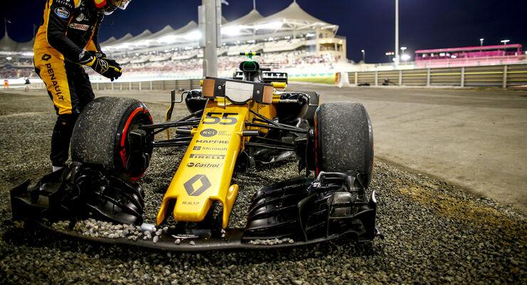 Carlos Sainz - GP Abu Dhabi 2017
