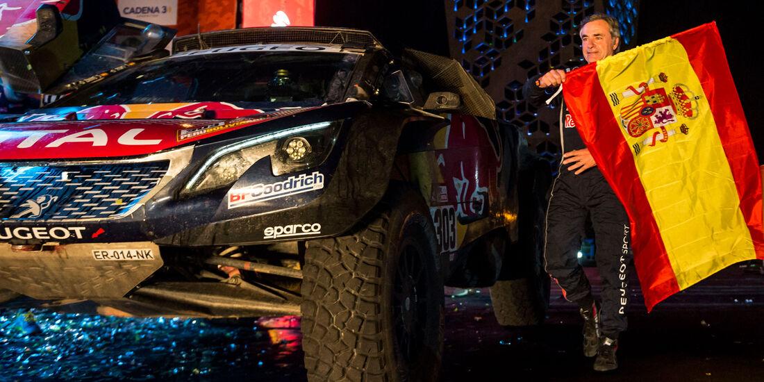 Carlos Sainz - Peugeot 3008 DKR Maxi - Rallye Dakar 2018 - Motorsport